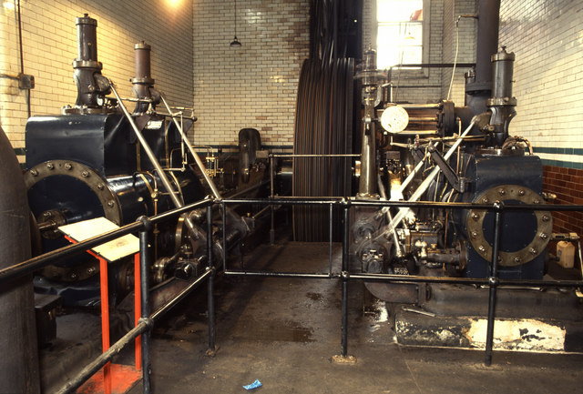 Coldharbour Mill steam engine
