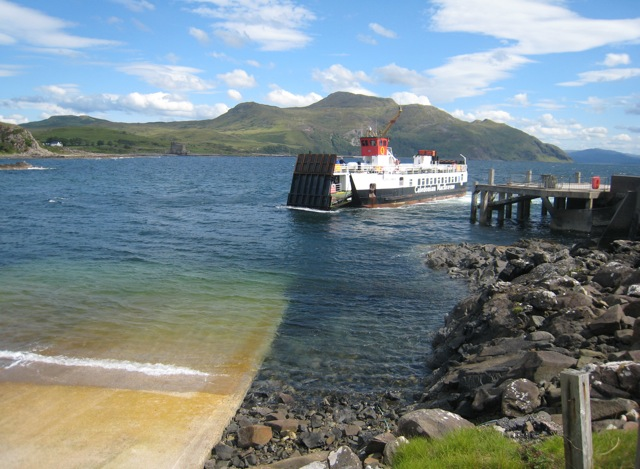 Kilchoan to Tobermory Ferry