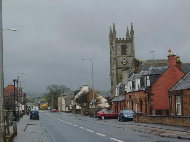 A76 through New Cumnock