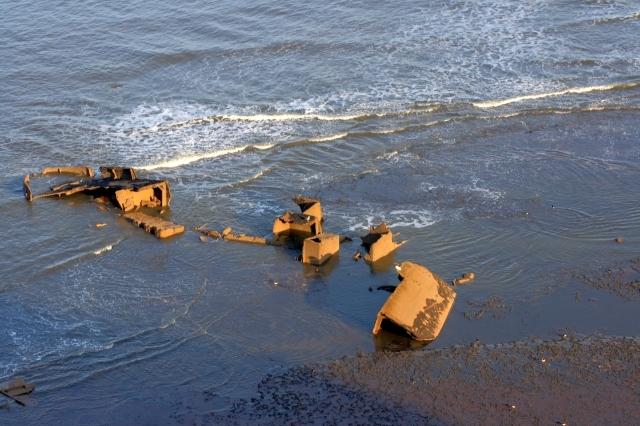 Shipwreck, The Scar