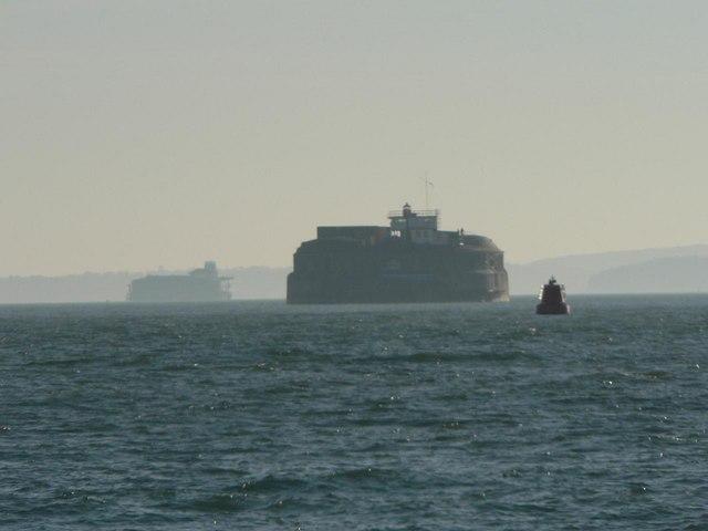 Portsmouth: Spit Sand Fort