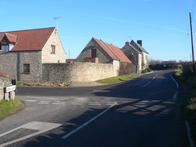 Stony Houghton - Green Lane Junction with B6417