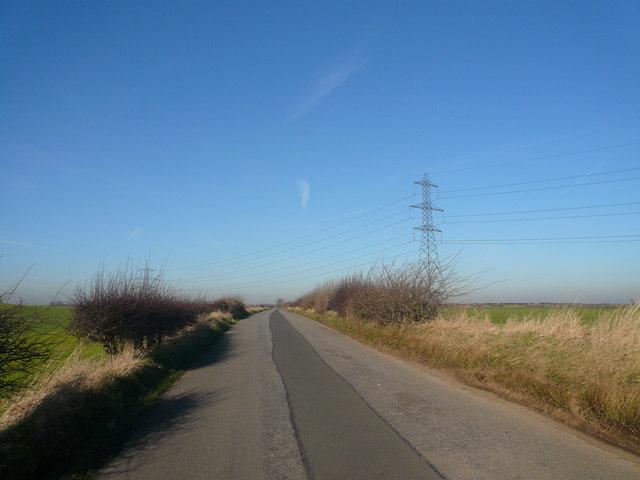 Losk Lane near to Stony Houghton