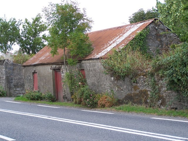 Old house in Ballickmoyler