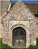 TM3898 : South Porch of St. Gregory's Church by Bill Sibley