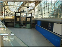 TQ3179 : Disused Waterloo International concourse by Stacey Harris