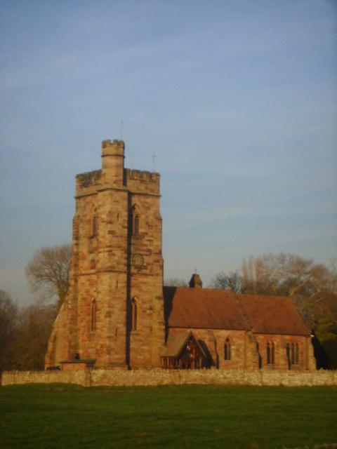 St Peters Church, Stoke on Tern