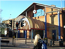 TQ2575 : Wandsworth Town Station by Stacey Harris