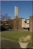 TL4359 : The front of Churchill College by Fractal Angel