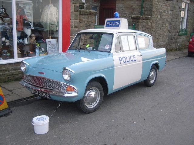 Heartbeat Police car