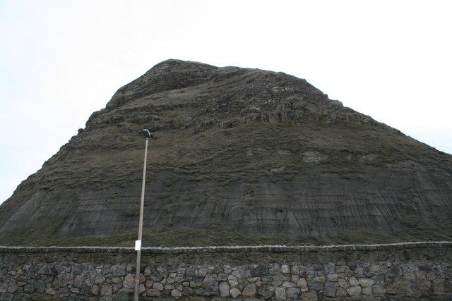 Castle Cliff headland