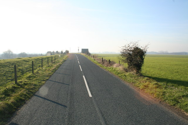 Road from Haddlesey to Birkin