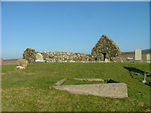 NG2261 : The Ruins of Trumpan Church by Dave Fergusson