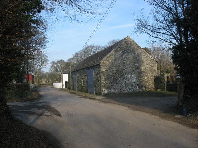Old church at Killanny, Co. Louth