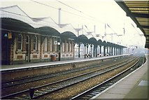 TM1543 : Ipswich Station Platform 3b. by Clive Warneford