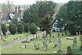 SO7595 : Worfield churchyard by Row17