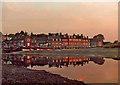 TG0244 : Blakeney, Norfolk, at sunset by Christine Matthews