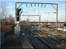 SP0889 : Aston north railway junction by Row17