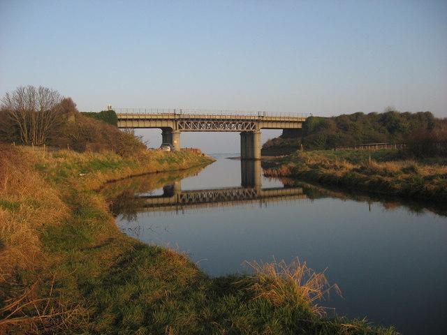 Railway bridge at Gormanston