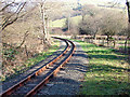 SN6180 : Vale of Rheidol Railway leaving Glanyrafon by John Lucas