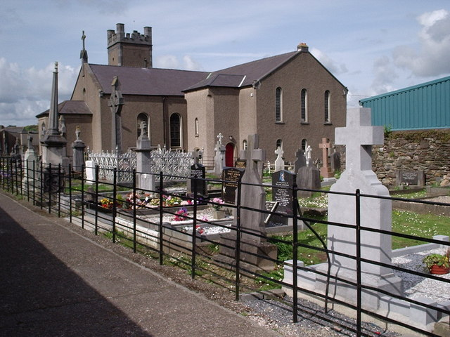 Churchyard at Holy Trinity Without -Ballybricken Waterford