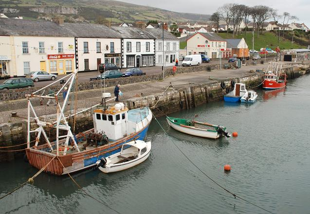 Carnlough harbour (1)