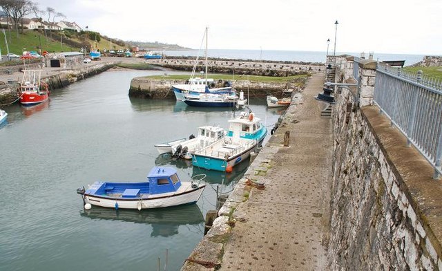 Carnlough harbour (2)