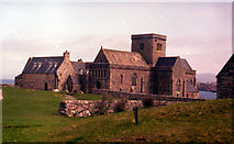 NM2824 : Iona Abbey by Alan Heardman