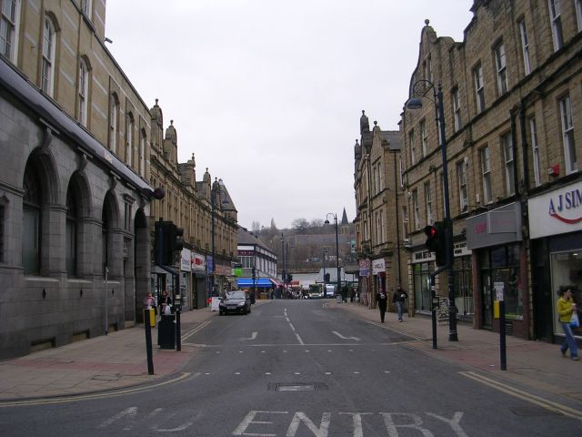 Corporation Street viewed from Northgate