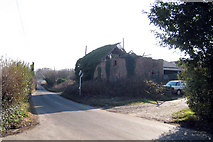TQ8115 : Derelict Oast House at Moor Farm, Stonestile Road, Westfield, East Sussex by Oast House Archive
