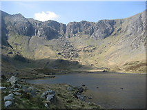 SH6459 : Devil's Kitchen from Llyn Idwal by Dudley Smith