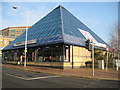 TQ1196 : Watford: The Pyramid, 161-165 High Street by Nigel Cox