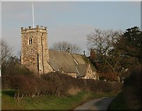 TA1345 : St Michael's Church, Catwick by Peter Church