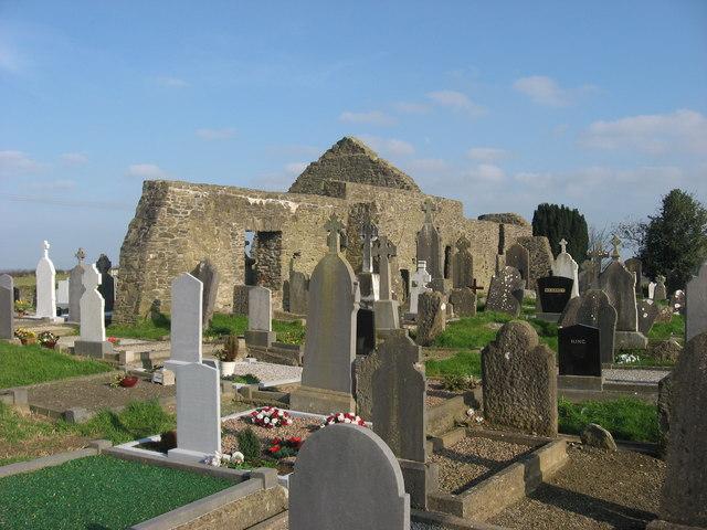 Church and graveyard at Dromin
