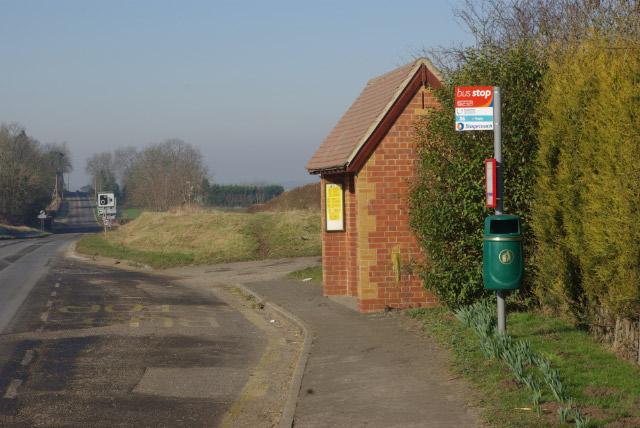 Bus Shelter, Church Lawford