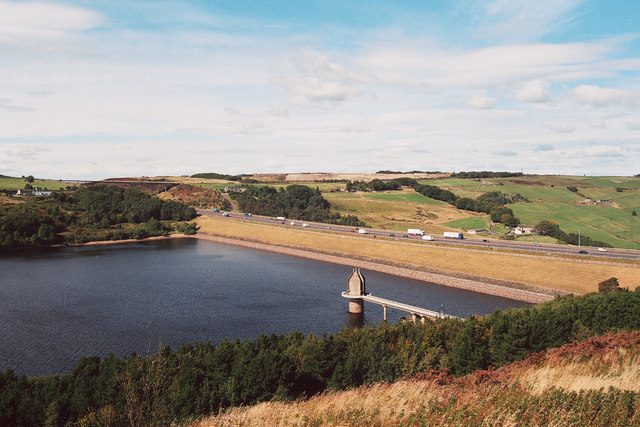 Scammonden Dam