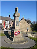 SK3874 : Old Whittington - War Memorial by Alan Heardman