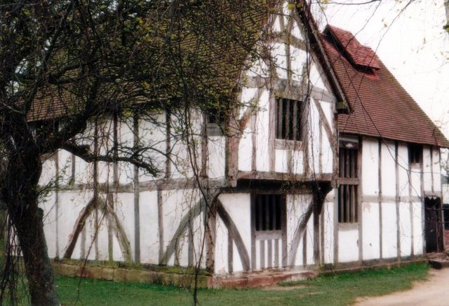 Avoncroft Museum: Merchants house from Bromsgrove, Worcs (15th C)