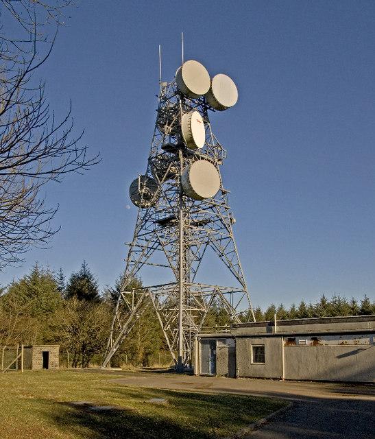 Goosemoor transmitter tower