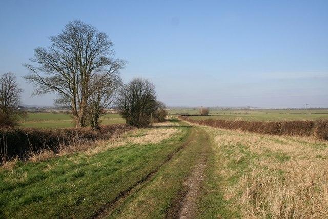 Bridleway from Springwalk Cottage
