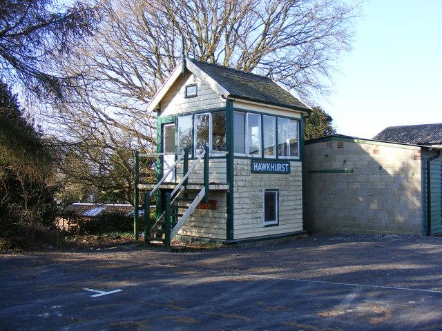 Hawkhurst Signal Box (Preserved)