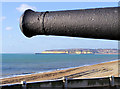 TV4898 : Newhaven from the roof of Seaford Martello Tower by Kevin Gordon