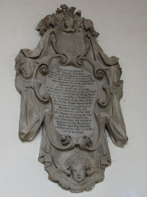 Alice Rogers' Memorial, All Saints' Church