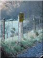 SN6578 : 5½ Milepost, Vale of Rheidol Railway by John Lucas