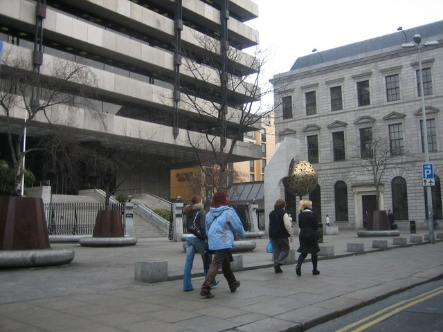 Central Bank of Ireland, Dame Street