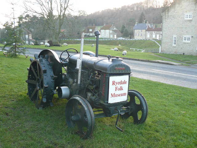 Ryedale Folk Museum Advertising Tractor