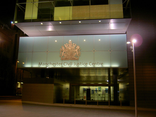 The new Manchester Civil Justice Centre