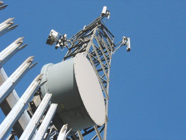 The Llithfaen North Spectrasite-Transco telecommunications mast