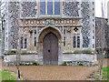 TF8200 : All Saints Church, Hilborough, Norfolk - West doorway by John Salmon