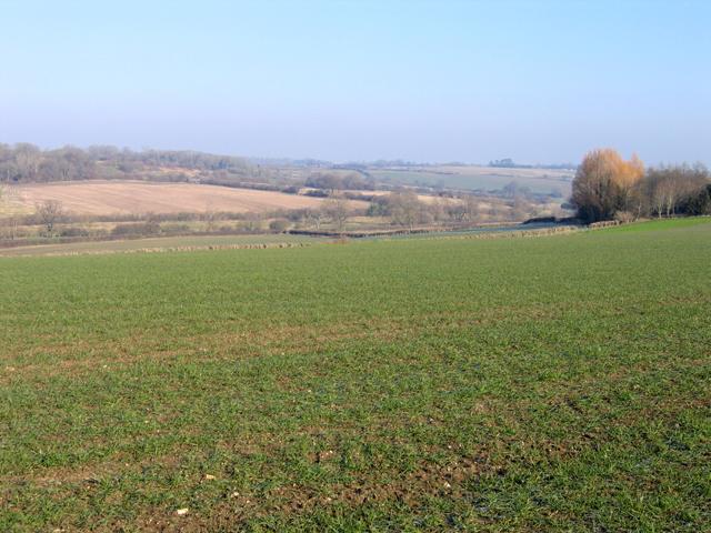 Cowage Brook valley, Hilmarton, Wilts